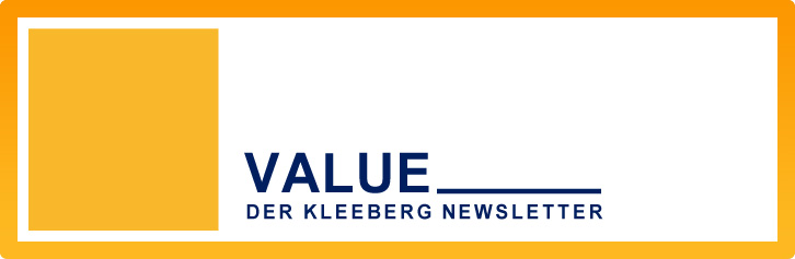 VALUE – Der Kleeberg Newsletter