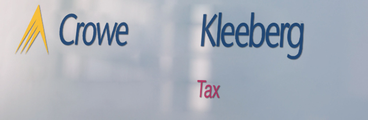 Tax News Archiv Crowe Kleeberg
